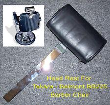 Takara Belmont BB-225 Elegance Barber Chair Head Rest - Brand New
