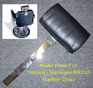 Takara-Belmont-BB-225-Elegance-Barber-Chair-Headrest-Brand-New