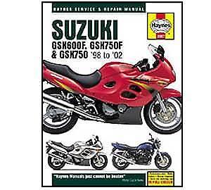 suzuki gsx 750 2001 2003 haynes service repair manual 3987 ebay rh ebay co uk Suzuki GSX-R 750 Suzuki GSX-R 750