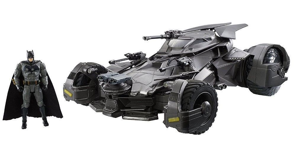 Justice League Ultimate Batmobile RC 1/10 Vehicle & Figure 64cm Hotwheels Batman