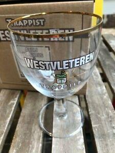 Trappist Westvleteren glas verre glass new 0,33 l 2019