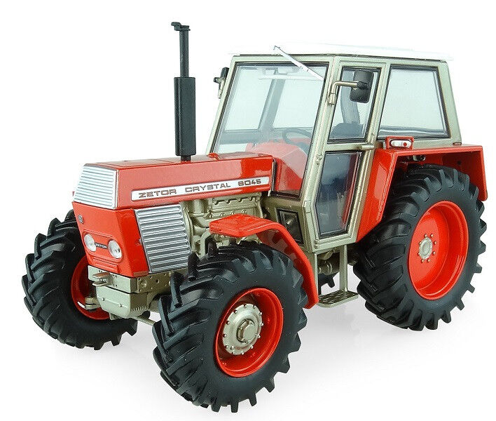 UH5272 - Tracteur ZETOR Crystal 8045 version 4 roues motrices  - 1 32