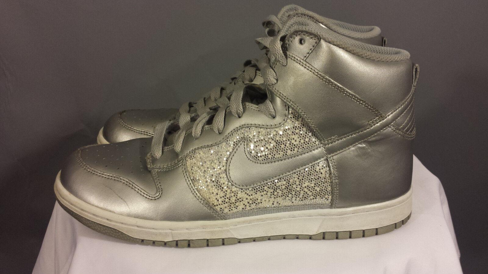 nike e alto 325203-001 argento metallico metallico metallico - glitter scarpe da basket donne 10 | Nuovo Prodotto 2019  | Scolaro/Ragazze Scarpa  6ea068