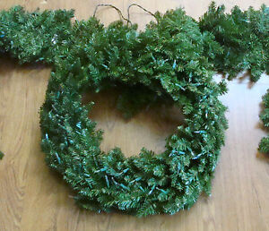 Bethlehem Lighting Qvc 23 Quot Wreath And 18 Quot Pine Garland Set