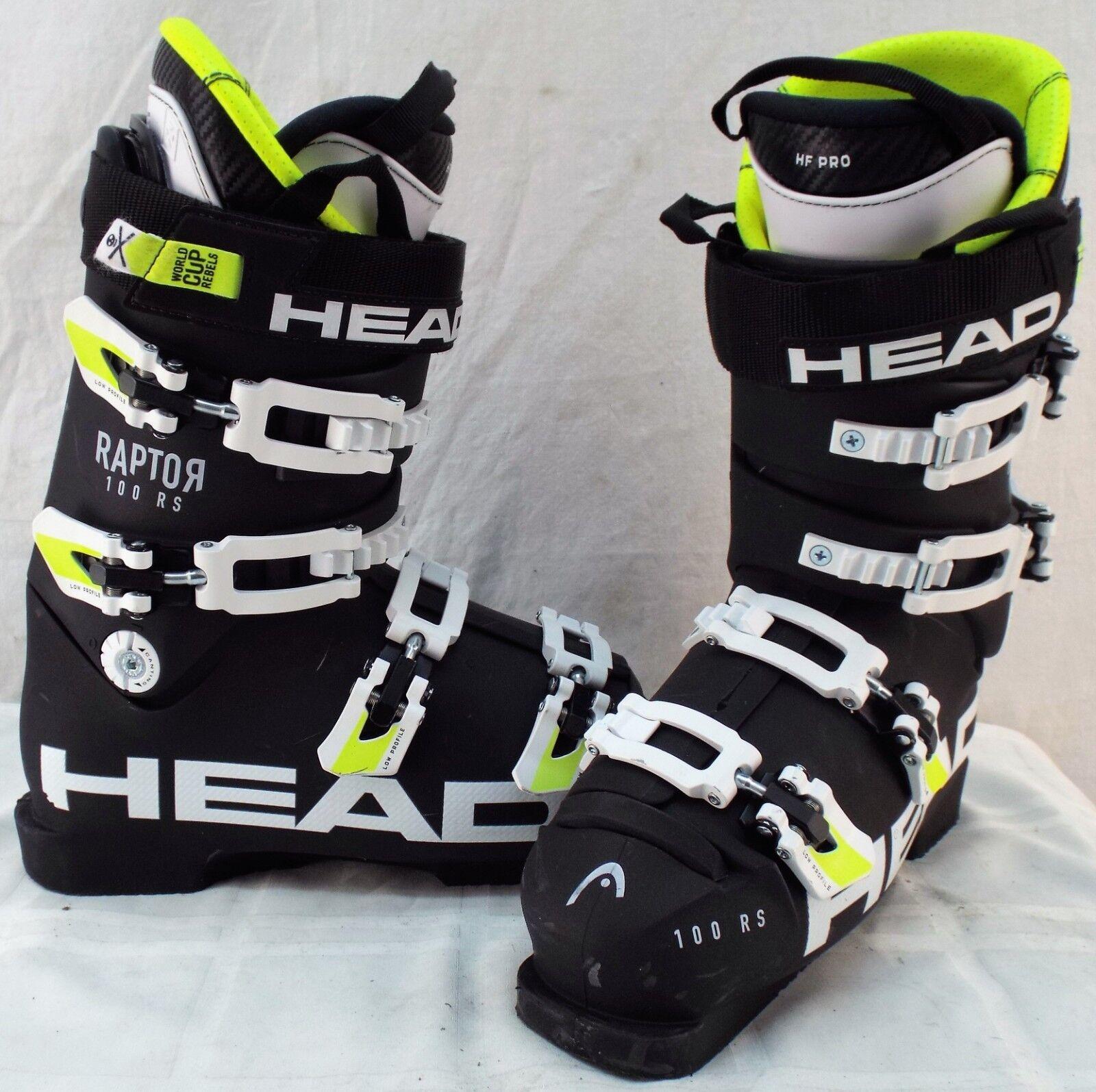 Head Raptor 100 RS WCR Used Men's Ski Boots  Size 26.5  best offer