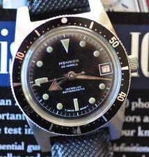 Vintage Monnier Diving Watch Automatic Diver RARE Countdown Bezel Runs & Looks +