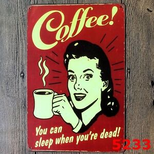 Metal-Tin-Sign-propaganda-coffee-Bar-Pub-Home-Vintage-Retro-Poster-Cafe-ART