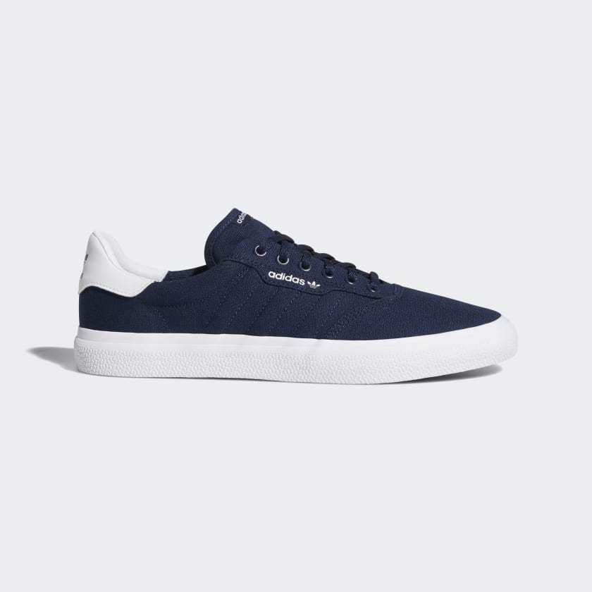 Adidas - 3mcb22707 - mens skate schuhenavy / Weiß