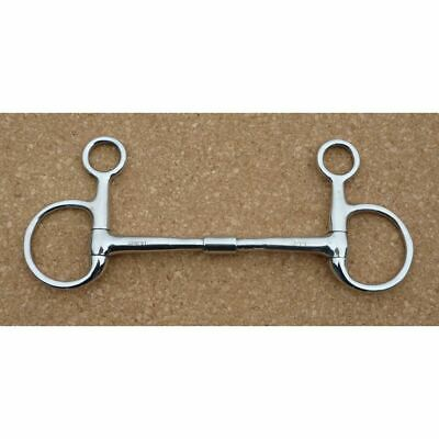 Mullen Hanging Cheek Filet Baucher Stainless Steel Horse /& Pony Bit All Sizes