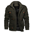New-Fashion-Mens-Winter-Fleece-Warm-Hooded-Multi-Pockets-Casual-Cotton-Jacket-YJ thumbnail 5