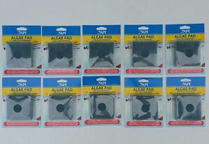 """Lot Of 10 Pet Supplies Api 3""""x3"""" Hand Held Algae Pad Scrubber For Glass Fish Tank Aquariums Pleasant To The Palate"""