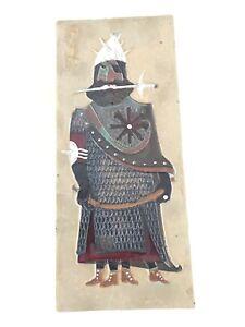 Tubelined-Ceramic-Art-Tile-GIANT-Mid-Century-Pottery-Amphora-Perignem-Vandeweghe