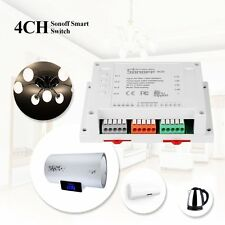 4CH 4 Gang Way Sonoff Smart Remote Control Wireless Switch Smart Home Solution