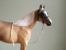 Traditional Scale Sapphire Blue Model Horse Halter For Breyer