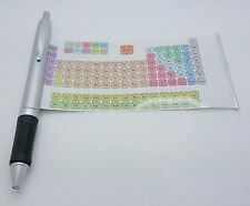 Periodic Table of Elements Chemistry Ink Pen