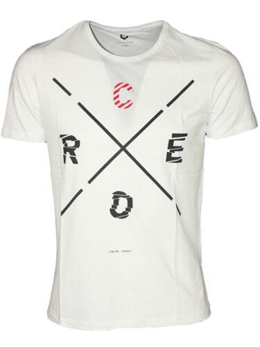 Da Uomo Slim Fit T-shirt a maniche corte Jack /& Jones nei colori bianco nero s-2xl