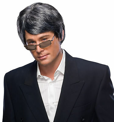 Man Wig theatrical costume adult men hair style character mannequin actor male