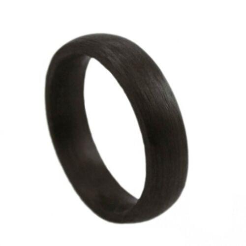 Glanzwelten Herren Carbon Ring schwarz RC06 Carbon Ring für Damen und Herren
