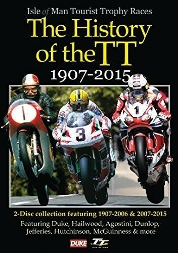 History of the TT 1907-2015 [New DVD]