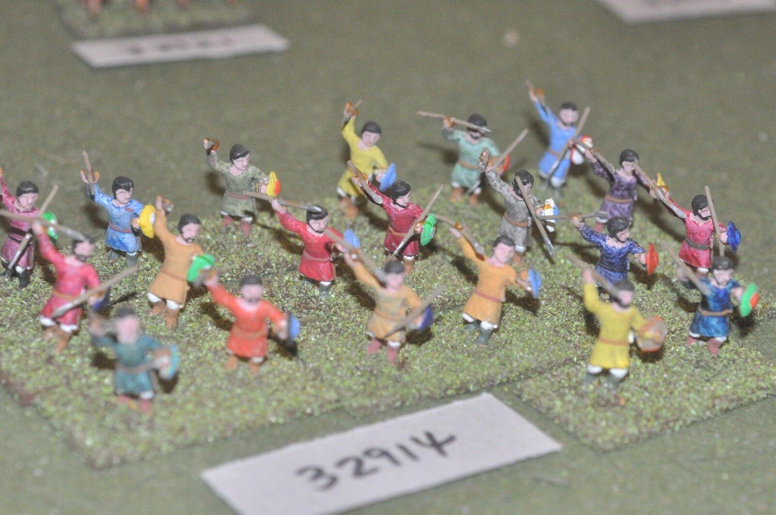 25mm roman era   roman - light infantry 20 figures - inf (32914)
