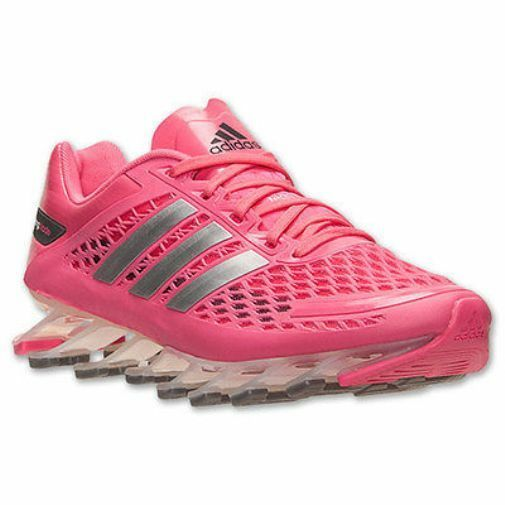 NEW Adidas femmes Springblade Razor Lace Up Running Walking Sneakers Chaussures rose