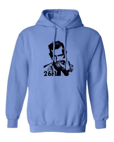 Conor McGregor 26-1 Shirt McGregor vs Khabib Fighting Men/'s Hooded Sweatshirt