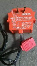 AURORA 302 D ELECTIRC TRNASFORMER A/FX WALL PAK A SLOT CARS COMPLETE ORIGINAL