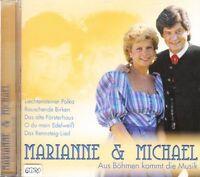 Marianne & Michael + CD + Aus Böhmen kommt die Musik + 16 Lieder Volksmusik +