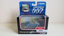 CORGI CLASSICS TY95501 JAMES BOND 007 GOLDENEYE BMW Z3 & DATACARD MIB
