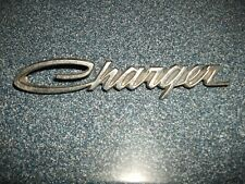 OEM Sail Panel Nameplate Emblem Chrome Pair Set of 2 for 66-74 Dodge Charger New