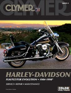 Details about CLYMER MANUAL HARLEY DAVIDSON FLHR ROAD KING & FLHT ELECTRA on