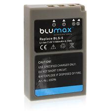 Akku für Olympus BLS-5 | 65096 | OM-D E-M10 PEN E-PM2 E-P3 E-PL2  E-PL6 E-PL8