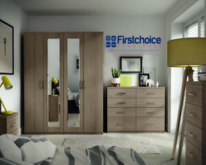 Wondrous Details About Medina Driftwood Wardrobe Drawers Set Fully Ready Assembled Bedroom Furniture Download Free Architecture Designs Rallybritishbridgeorg
