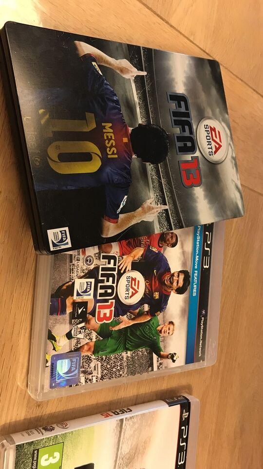FIFA 13/15/16, PS3, sport
