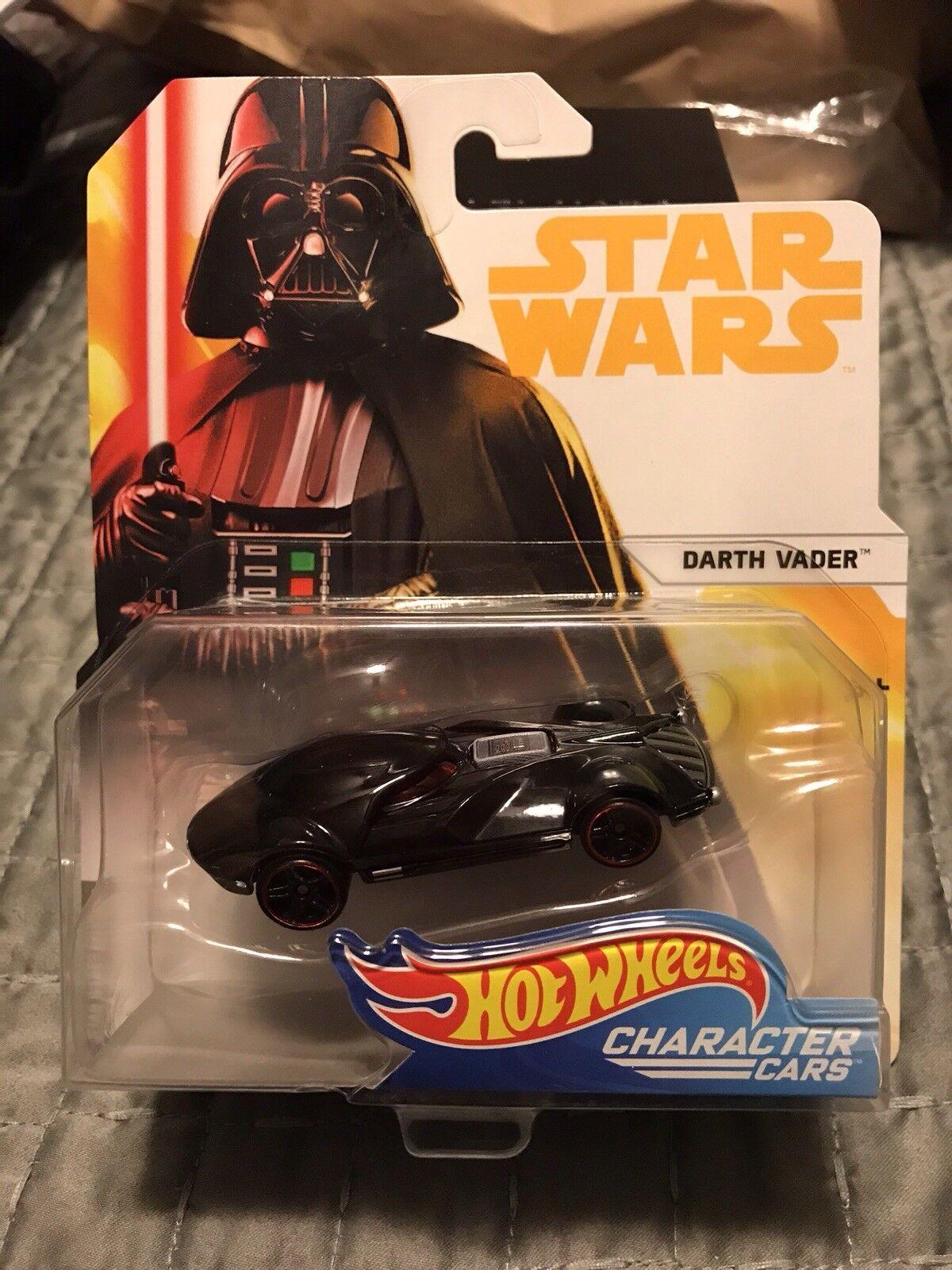 (15) 2018 hot wheels -  star wars  - charakter autos