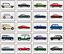 Indexbild 1 - Kühlschrank Magnet - Britisch Klassisch Auto Auswahl - Große Acryl,Vintage,Retro