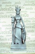 Saint Seiya Myth Cloth Diorama Decoration Statue Athena Model Resin Gray SC93