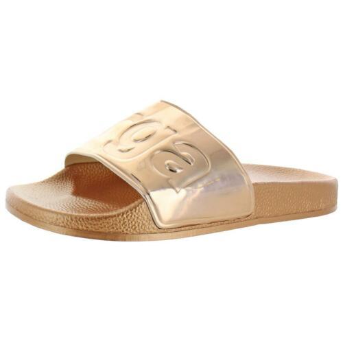 Superga Womens 1908 Pink Man Made Pool Slides Shoes 8 Medium B,M BHFO 3406