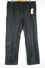 Marmot Men's Precip Rain Pants Size Small Black # 41240