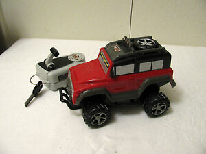 Vintage Tyco Rc Radio Control Jeep Or Suv W Key Advertising