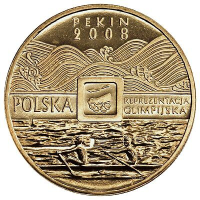 MINT 2008 SUMMER OLYMPIC GAMES BEIJING PEKIN CHINA COIN OF POLAND