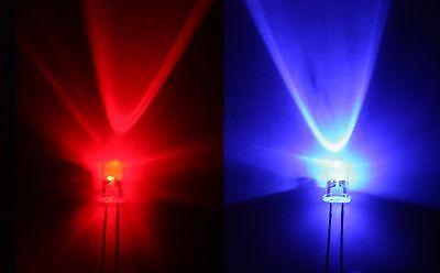 Led //  hoher Fertigungsstandard 3mm ROT 3500mcd max 15 Stück Leuchtdioden