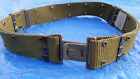 """US Military ALICE Pistol / utility Belt Green LC-2 Size LARGE waist 30"""" and up"""