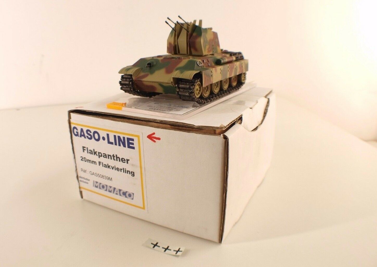 GASO.LINE GAS50839M Flakpanther 20 mm flakvierling 38 allemand neuf boite mint