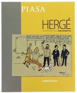 Tintin-Herge-Catalogue-de-vente-Piasa-mai-2016