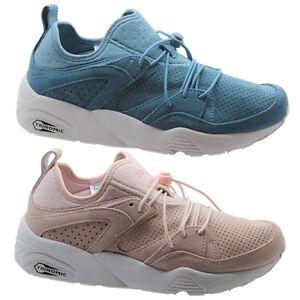 PUMA Trinomic Blaze of Glory morbido da donna Sneakers Rosa Blu 360412