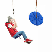 Daisy Disc Swing Kids Seat Rope Tree Fun Outdoor Summer Play 264 Lbs Cap