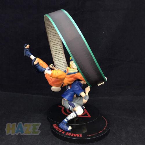 Anime Naruto Uchiha Sasuke Uzumaki Naruto PVC Figure Model With Box