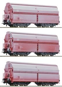 Roco 75939 75940 75941 3 schwenkdachwagen a petición achstausch Märklin gratis