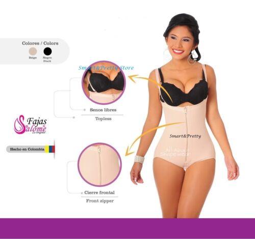 The Best Bodusuit Salome Ref.0414 Women Body Shaper Strapless Zipper Frontal